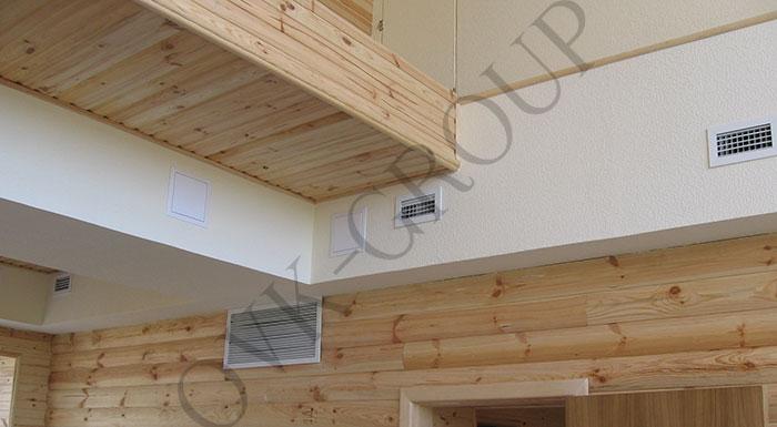 Проектирование и монтаж воздушного отопления в загородном доме