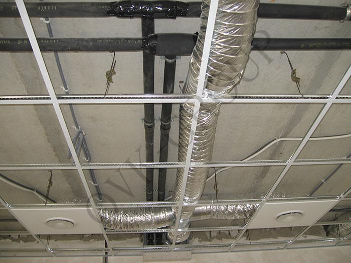 Проект и монтаж вентиляции и кондиционирования спорткомплекса