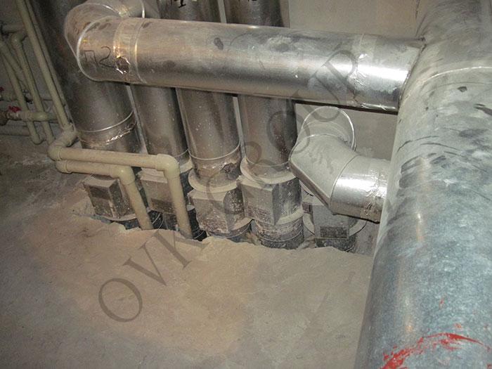 Проектирование и монтаж вентиляции и кондиционирования спорткомплекса