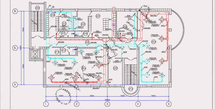 Проект вентиляции и кондиционирования спорткомплекса и фитнес центра