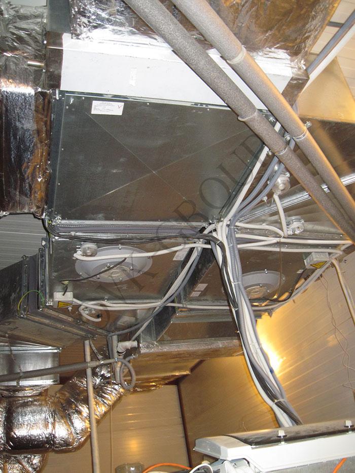 Проект и монтаж системы вентиляции в ресторане