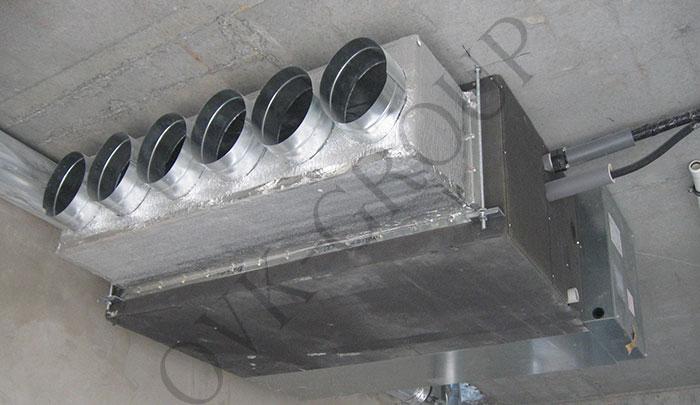 Проект системы кондиционирования и вентиляции в ресторане