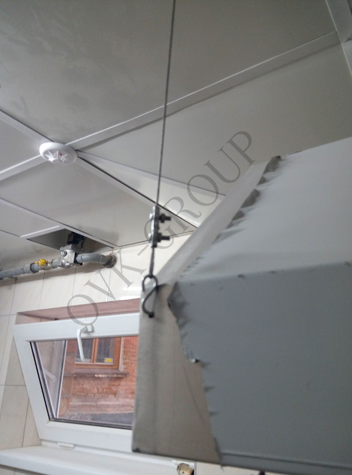 Монтаж и наладка системы вентиляции в кухне кафе в Харькове