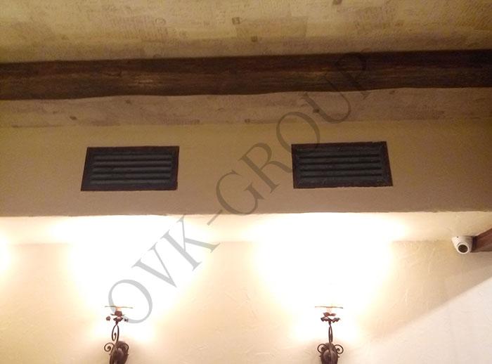 Проектирование и монтаж системы вентиляции зала кафе в Харькове