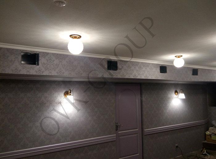 Проект и монтаж системы вентиляции и кондиционирования кафе в Харькове