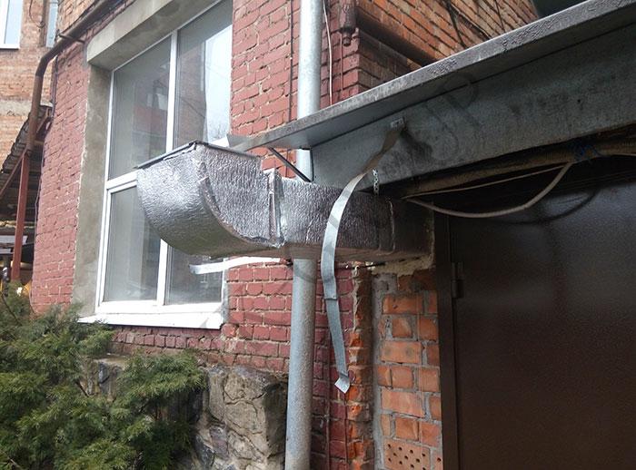 Монтаж системы вентиляции зала кафе в Харькове