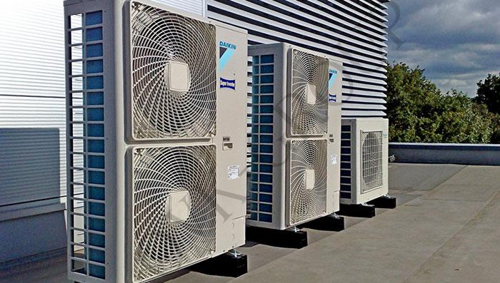 Системы VRV и VRF для охлаждения воды