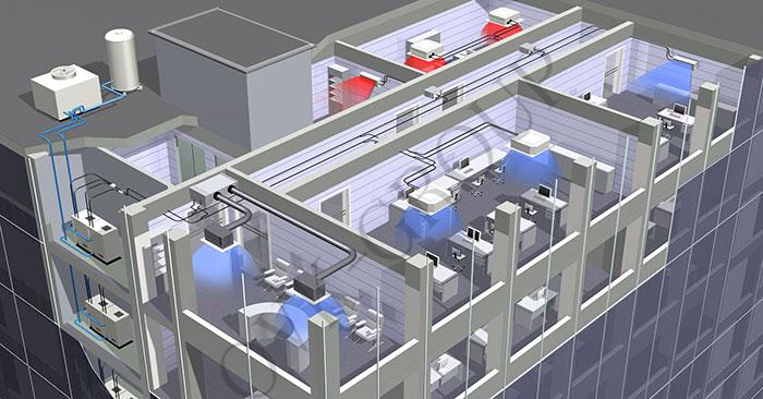 мультизональная VRV и VRF системы кондиционирования воздуха