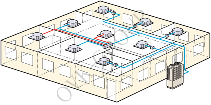 проект вентиляционной системы чиллер-фанлойл
