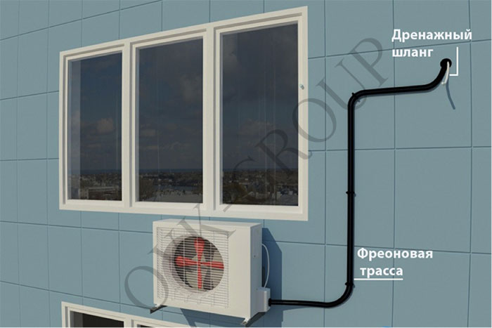 проектирование мультисплит систем для кондиционирования квартиры