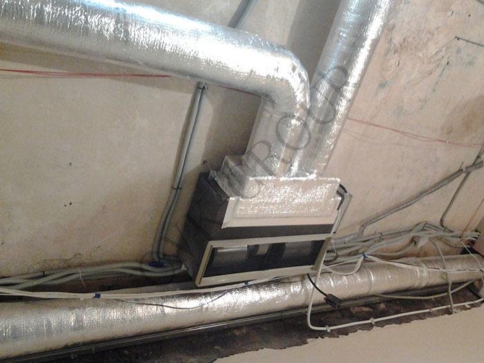 монтаж вентиляционного оборудования в отеле