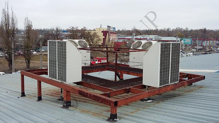 Проект приточно-вытяжной вентиляции торговой площадки