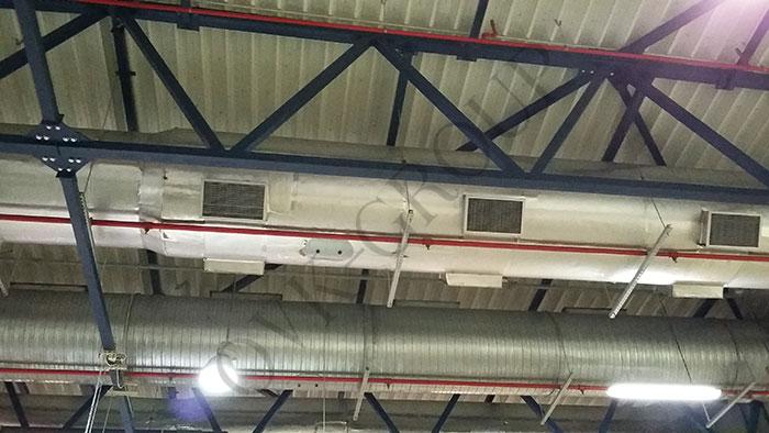 проект вентиляционной системы табачной фабрики