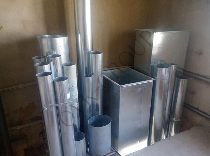 Проектирование и монтаж вентиляции и отопления административного здания