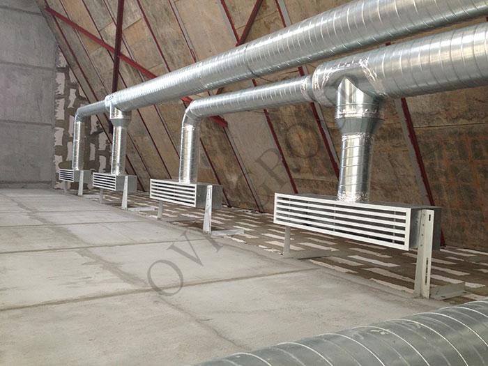 проект вентиляции и отопления в коттедже