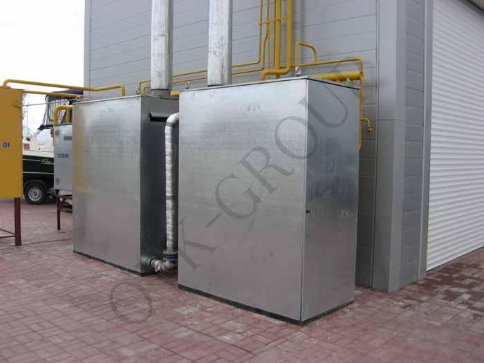 Монтаж отопительного оборудования торгового комплекса
